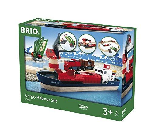 Wooden Cargo - BRIO Cargo Harbor Set