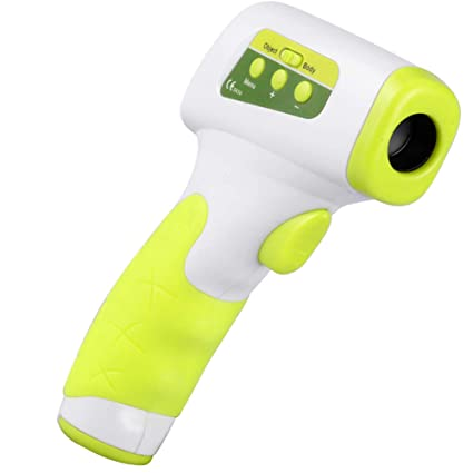 ZKKAW Termómetros Digitales, termómetro sin Contacto del bebé del ...