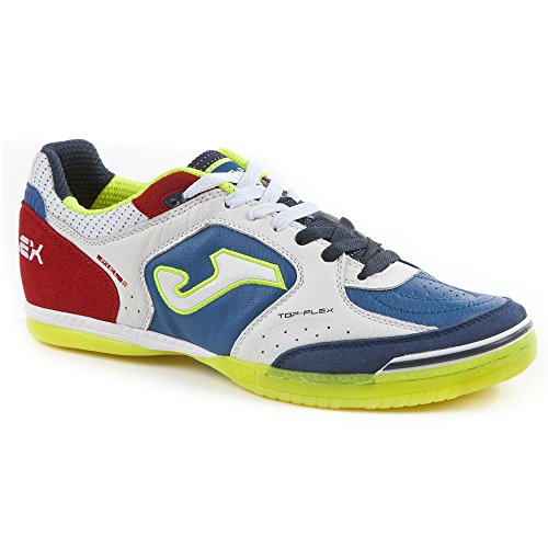 Zapatilla de fútbol sala Joma Top Flex White-Blue-Red White-Blue-Red