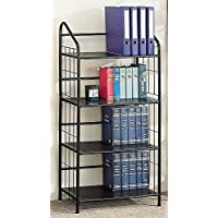 4 TIER METAL BOOKCASE