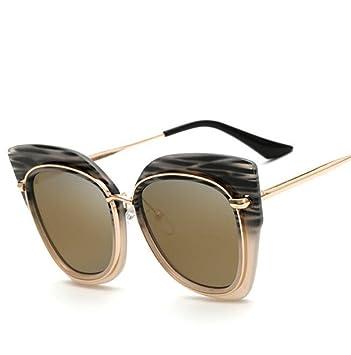 Europa y los Estados Unidos tendencia metal, gafas de sol ...