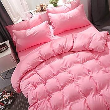 Which Umbrella Three Baumwolle Bettwäsche Weiß Braun Grau Pink