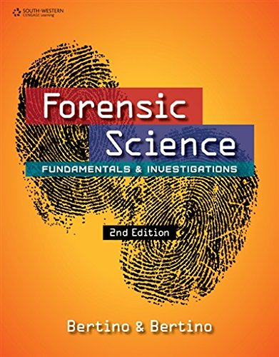1305077113 - Forensic Science: Fundamentals and Investigations