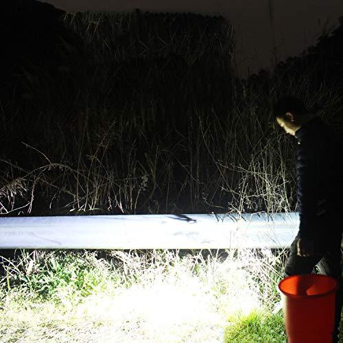 TYXZLF LED Fishing Light Waterproof Charging Glare Floor Stand Night Fishing Light for Fishing Camping Adventure Etc by TYXZLF (Image #4)