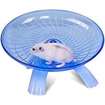 Chenkaiyang Super Silent Non Slip Run Disc for Hamsters Hedgehogs Small Pets Exercise Wheel (blue)