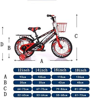K-G Bicicleta Infantil Formación del Niño De La Bicicleta Niños ...