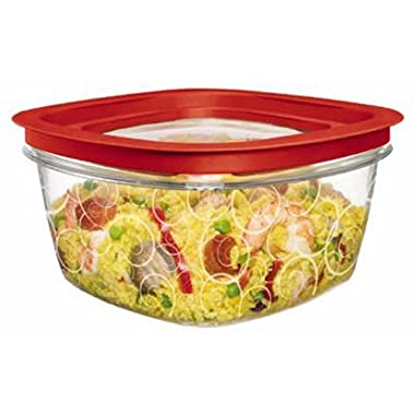 Rubbermaid New Premier Food Storage Container, 14-Cup size, Clear