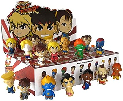 Street Fighter Action Vinyls 2018, Toy NUOVO