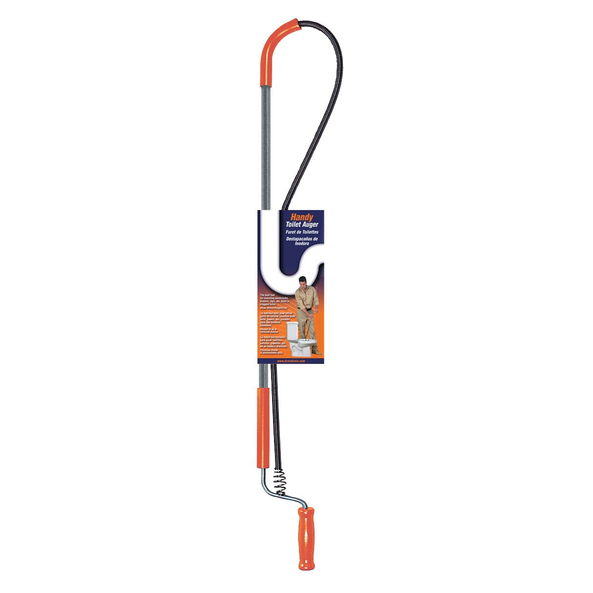 General Wire Spring 3J Closet Auger General Pipe Cleaners GENW3PJH