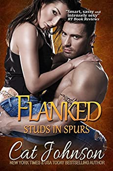 Flanked (Studs in Spurs Book 5) by [Johnson, Cat]