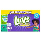 Health & Personal Care : Luvs Ultra Leakguards Diapers Size 6, 140 Count by Luvs