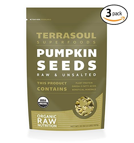 Terrasoul Superfoods Organic Pumpkin Seeds, 6 Pounds (Non Gmo Pumpkin Seeds)