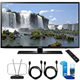 Samsung UN55J6201 55-Inch 1080p 120Hz Full HD LED Smart HDTV Cord Bundle