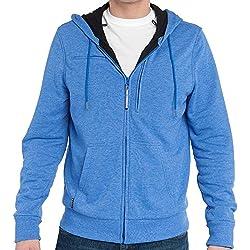 Baubax Travel Jacket - Sweatshirt - Male - Blue - Large