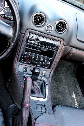Amazon.com: RedlineGoods Mazda Miata NB 1998-05 cubierta de guantera de: Automotive