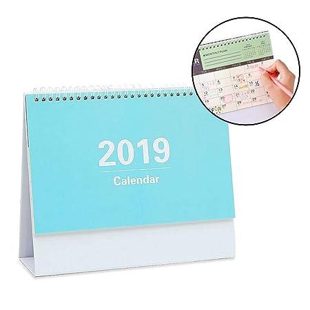 Wovemster Calendario Familia 2019 decoración de Mesa Estilo Simple ...