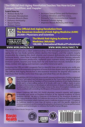 51FjkDqZliL - The Official Anti-Aging Revolution: Stop the Clock, Time is on Your Side for a Younger, Stronger, Happier You