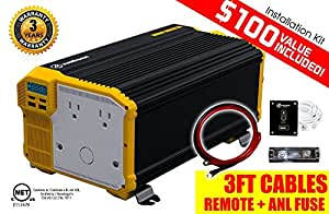 Amazon Com Kri 203 Ger 4000 Watt 12v Power Inverter Dual