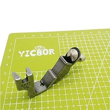 YICBOR - Pie elástico para máquina de coser Brother Janome Juki (ajustable, S537 5/16): Amazon.es: Hogar