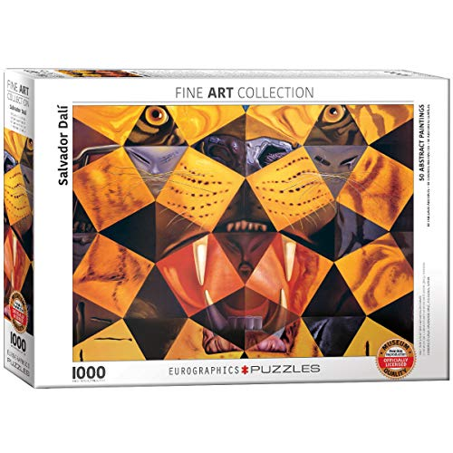 EuroGraphics Salvador Dali Fifty Abstract Paintings Puzzle (1000 Piece) (Dali Painting Abstract)
