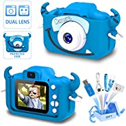 Goopow Kids Camera Toys for 3-8 Years Old Boys and Girl, Kids Digital Video Camera for Children with Shockproo