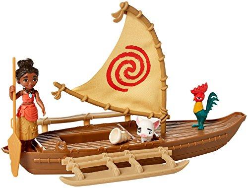 Disney Princess Disney Princess Moana Small Figure Playset Ast Doll