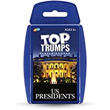 US Presidents Top Trumps Card Game