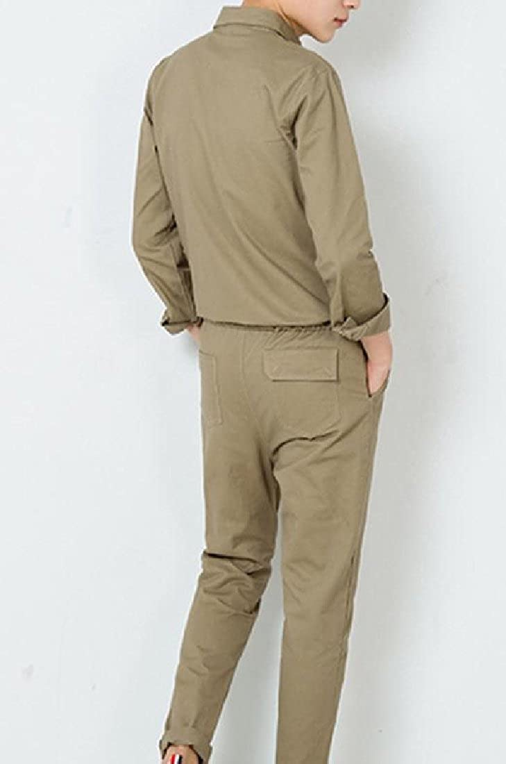 CuteRose Mens Thin Long-Sleeve Western Shirts Harem Pant One Piece