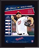 "Max Scherzer Washington Nationals 10.5"" x 13"" 2016 National League Cy Young Sublimated Plaque - Fanatics Authentic Certified"