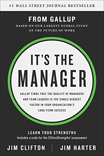 51Fjm%2Bz6%2BxL - It's the Manager: Gallup finds the quality of managers and team leaders is the single biggest factor in your organization's long-term success.