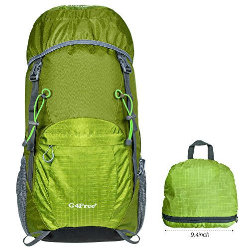 G4free Large 40l Lightweight Water Resistant Travel