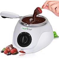 PKFNMK14 - Juego de fondue de calentamiento de chocolate eléctrico para derretir y calentar el chocolate con función…