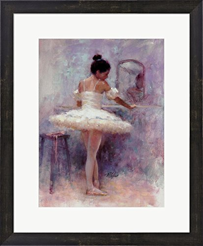 (Reflection by Richard Judson Zolan Framed Art Print Wall Picture, Espresso Brown Frame, 19 x 23 inches)