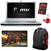 MSI PE72 7RD-666 Select Edition (i7-7700HQ, 32GB RAM, 480GB NVMe SSD + 1TB HDD, NVIDIA GTX 1050 2GB, 17.3 Full HD, Windows 10 Pro) Gaming / Workstation Laptop