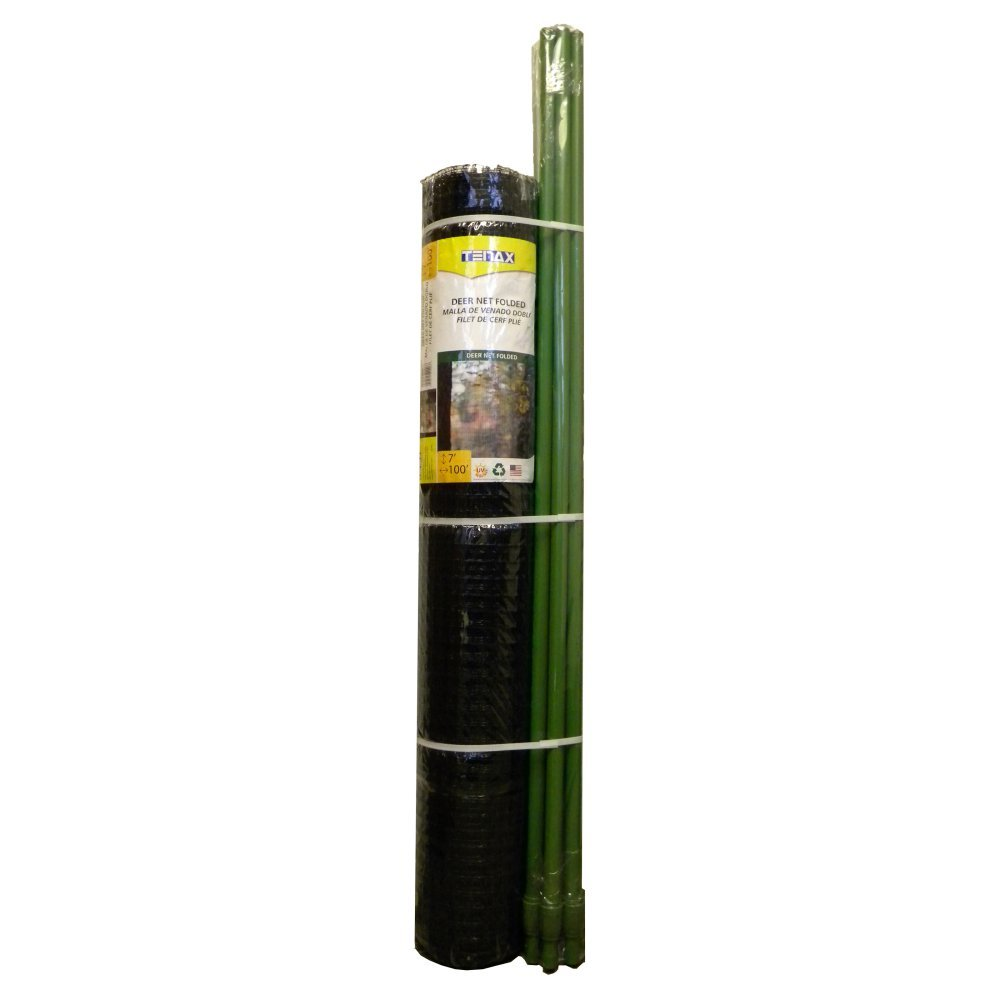 Tenax DIY Deer Fence Kit, 7 x 100-Feet