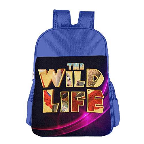 Price comparison product image Fashion Boys Girls Toddler Multipurpose Should Bag, The Wild Life RoyalBlue