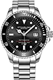 "Mens Swiss Automatic Stainless Steel Professional""DEPTHMASTER"" Dive Watch!"