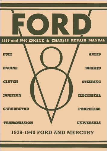 ury V8 Engine and Chassis Repair Manual (V8 Clutch)