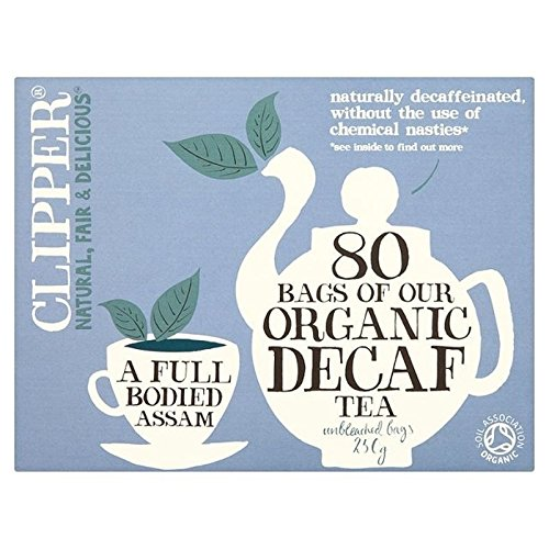 Clipper Organic Decaf 80 per pack - Pack of 6