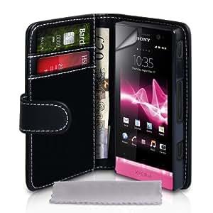 Yousave Accessories SE-HA01-Z267 - Funda para móvil Sony Xperia U, negro
