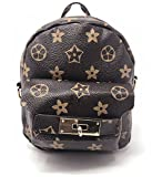 Mini Backpack for women, girls Travel Small Unique Purse Lightweight Strong Floral Canvas