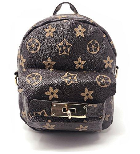 Girls Cute Micro mini Leather Backpack Fashion Small Purse for Girls - Luxury Mini