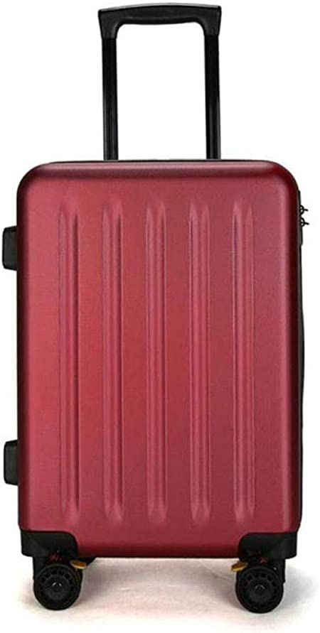 Business Travel Boarding Suitcase Lightweight Travel Carry On Cabin Hand Luggage Suitcase with 4 Wheels /&TSA Lock,Black,20in