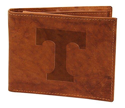 Rico NCAA Tennessee Volunteers Embossed Genuine Leather Billfold Wallet