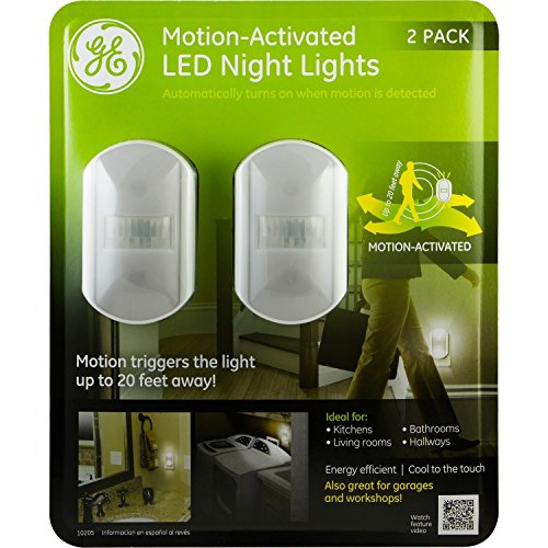 GE Motion Activated Night Lights Pack