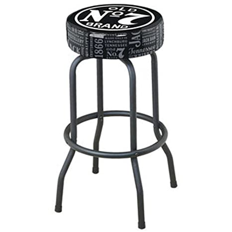 Enjoyable Jack Daniels Repeat Swivel Bar Stool Black Gmtry Best Dining Table And Chair Ideas Images Gmtryco