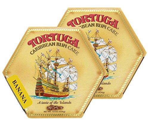 Tortuga Caribbean Banana Rum Cake, 16-Ounce Box - Pack of 2
