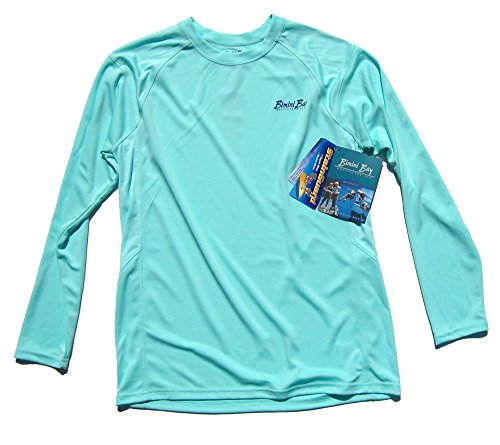 Bimini Bay Cabo Crew II Long Sleeve Shirt (X-Large, Aruba Blue) -