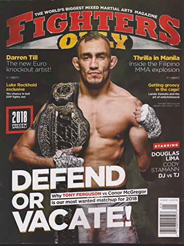 Fighters Only Magazine January 2018