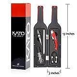 Kato Wine Opener Gift Set - Fun Wine Bottle